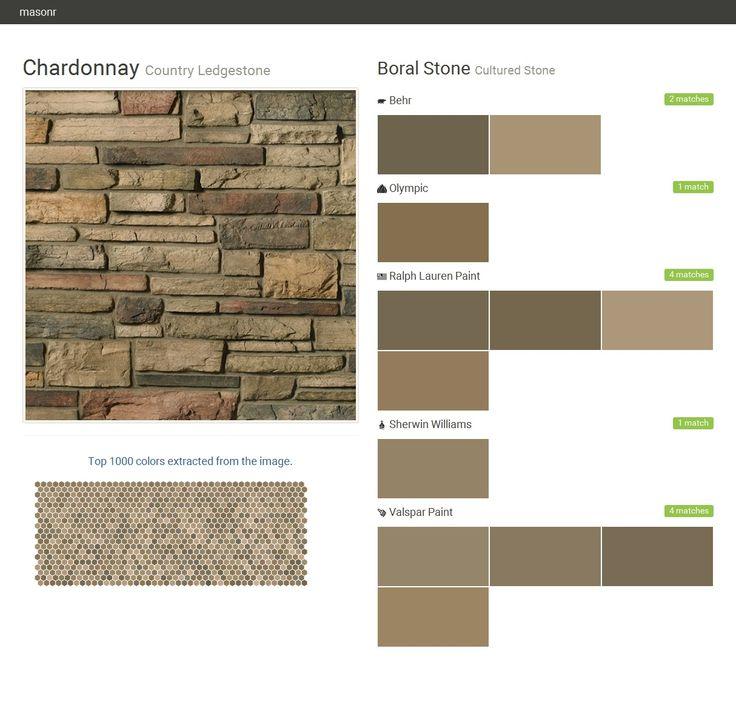 The 25 best boral stone ideas on pinterest boral - Valspar exterior paint color ideas ...