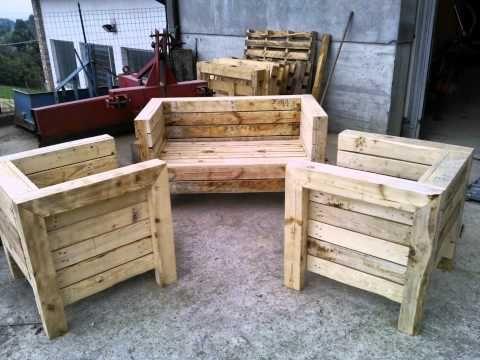 Come trasformare dei bancali in mobili da giardino - Fai da Te Mania