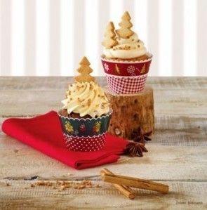 Fartuszki ozdobne do muffinów - Birkmann - Nostalgic Christmas