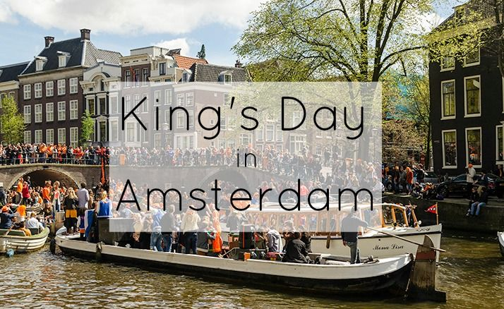 King's Day in Amsterdam is the biggest party we have seen. With a beautiful spring day we were able to experience the best that King's Day had to offer.