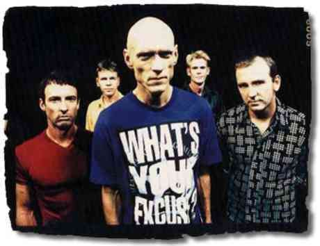 Peter Garrett - Midnight Oil - the the band not the now politician.