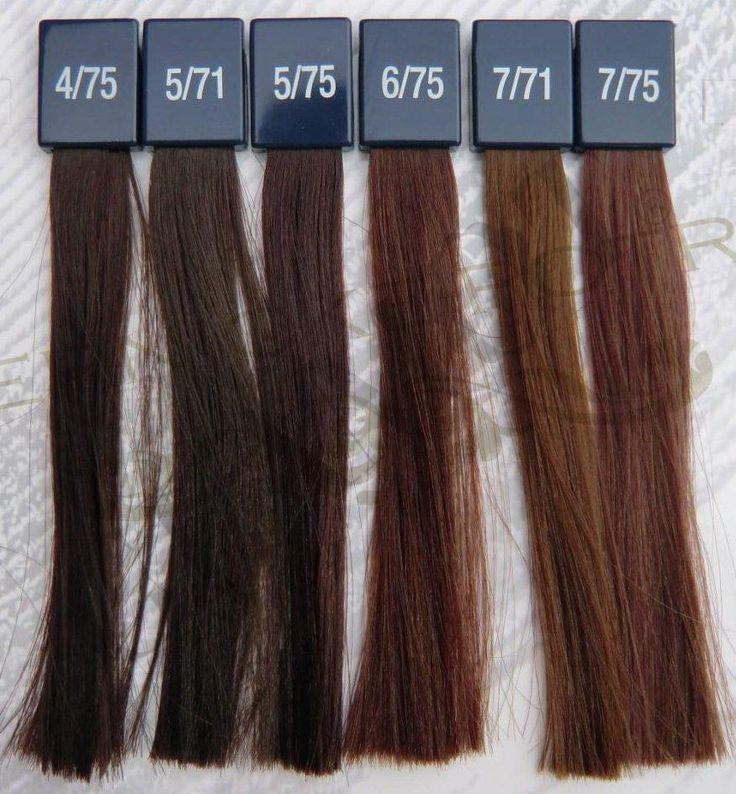 1000 ides sur le thme koleston cores sur pinterest tabela de cores - Coloration Cheveux Wella Koleston