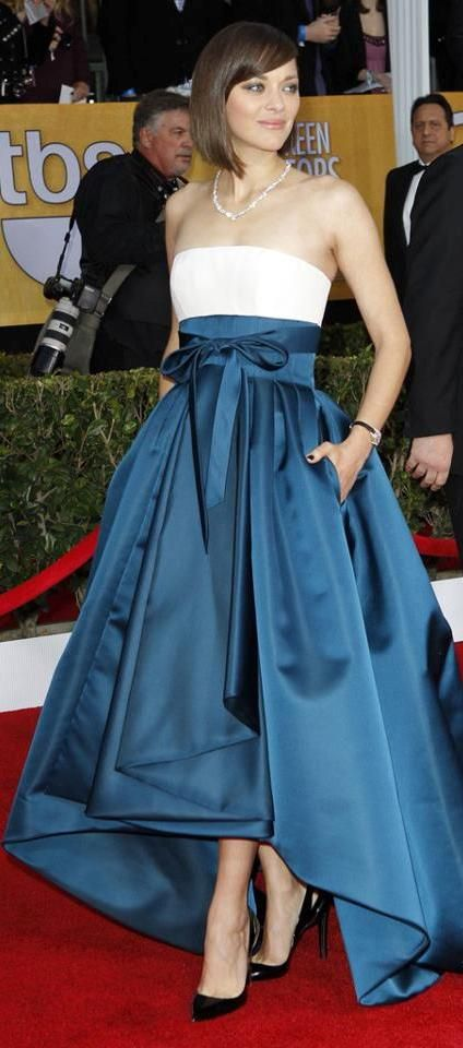 Marion Cotillard in Christian Dior at SAG Awards 2013