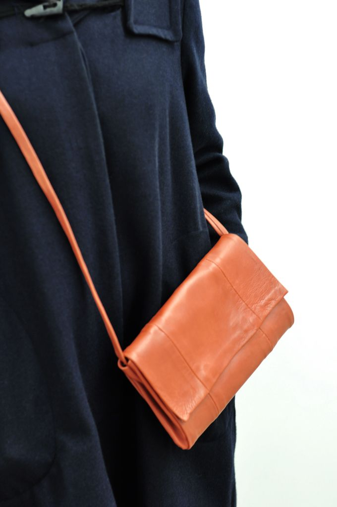 DIY Leather purse // Baltik: Un Sac Caramel