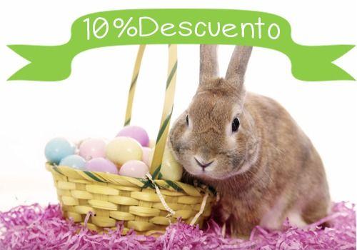 Se acerca la #Pascua y en #Mascoweb vamos a celebrarla con un10% de descuentoen productos para #conejos. Si quieres enterarte de una vez por todas de qué va eso del conejo y de los huevos y de paso conseguir un descuento ¡No te pierdas este post!