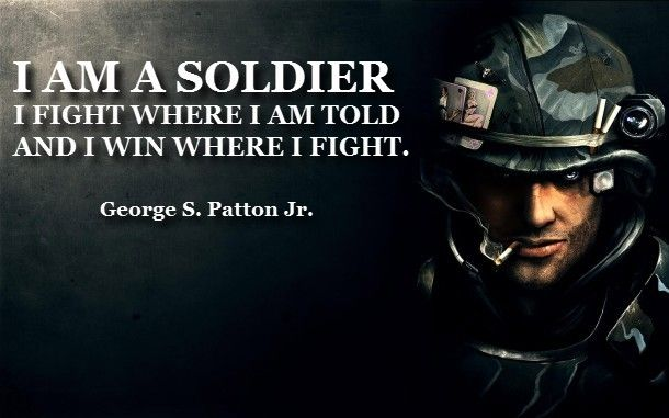 FAMOUS MILITARY QUOTES (WITH WALLPAPERS)