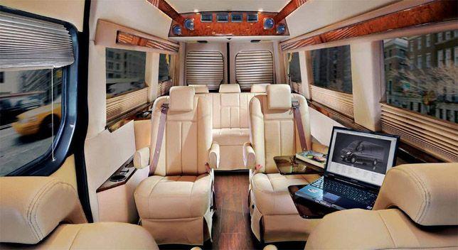 Mercedes Sprinter luxury mod