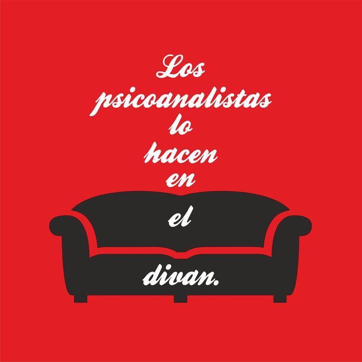 los psicoanalistas lo hacen en el diván  http://camisetasdouglas.jimdo.com/tienda-web/m%C3%A1s/psicolog%C3%ADa/
