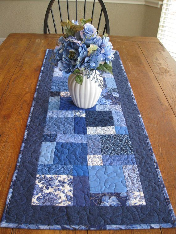 I love the idea of a quilted table runner.