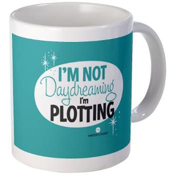 Writer's mug from Writer's Digest.