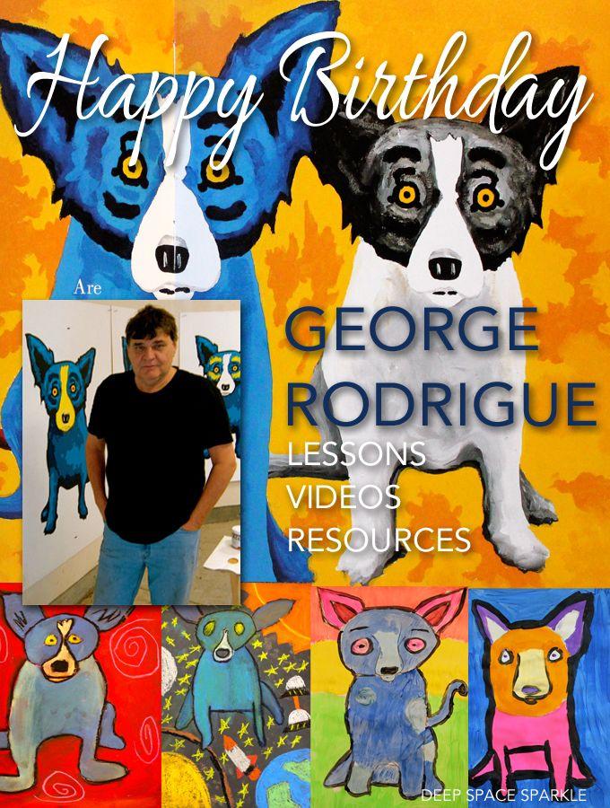 Comfortable Birthday, George Rodrigue
