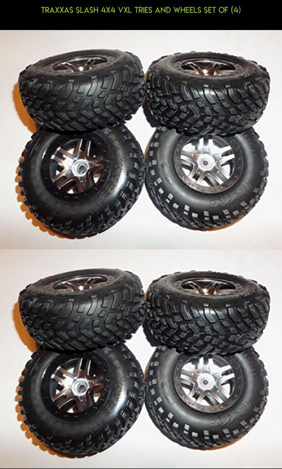Traxxas Slash 4X4 VXL Tries and Wheels Set of (4) #shopping #fpv #4 #drone #traxxas #technology #tires #slash #parts #kit #products #racing #gadgets #camera #tech #plans