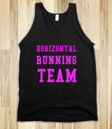 HORIZONTAL RUNNING TEAM! Fat Amy :D bahaha