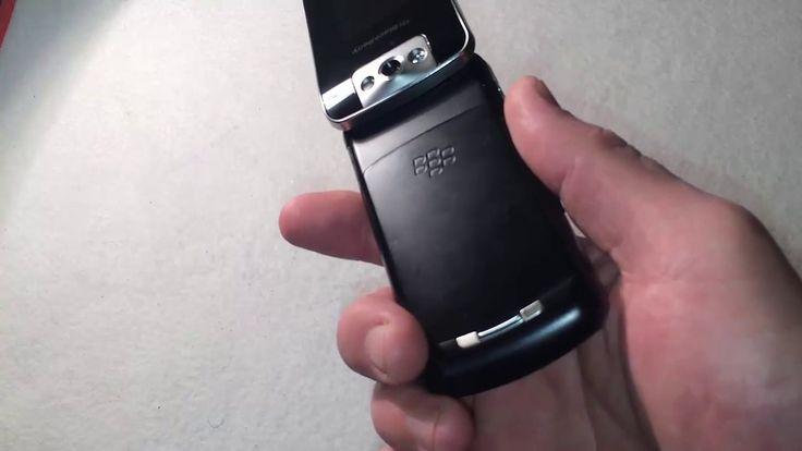 BlackBerry Pearl Flip 8220 обзор и русификация