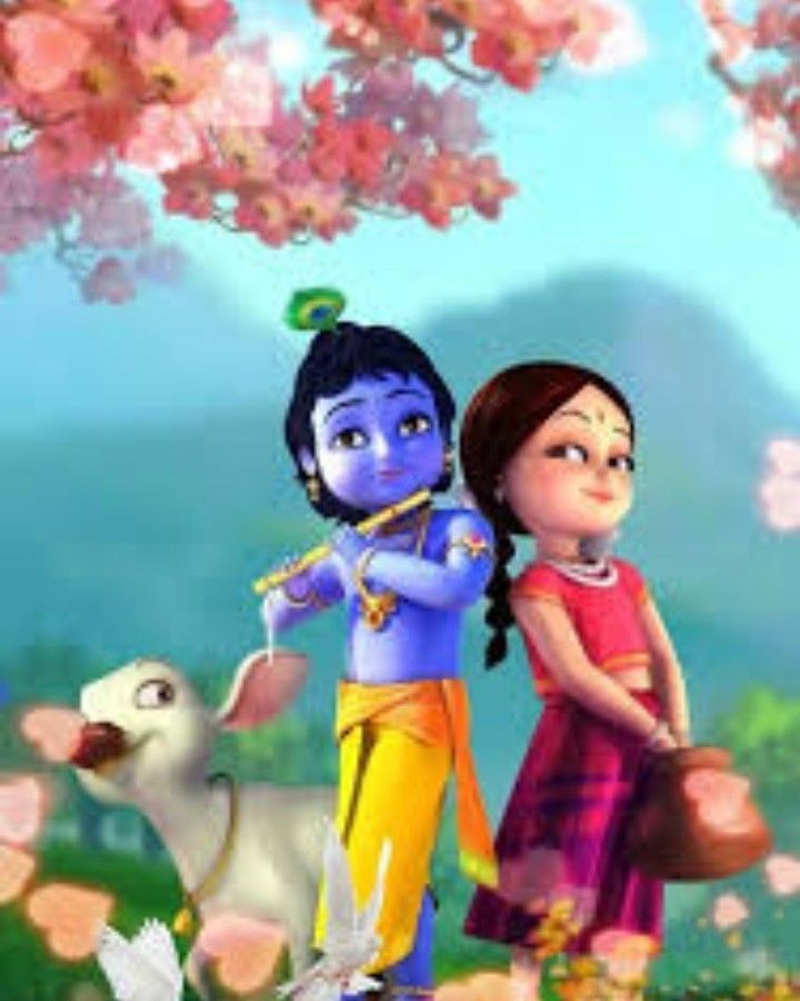 Instagram Photo By Patil Avi May 27 2020 At 8 32 Am Radha Krishna Wallpaper Cartoons Krishna Lord Krishna Images Krishna animated wallpaper free download