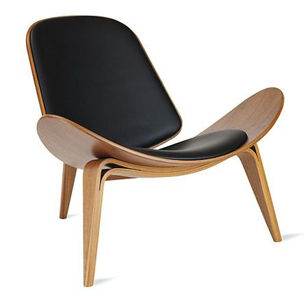 Timeless Hans Wegner Shell Chair | at Design Within Reach | House & Home