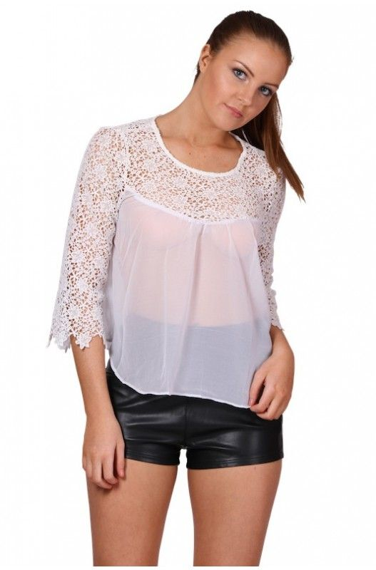 Boho Dreaming Lace Top- Available in Stock at 50% discount. Shop Now Only at A$15.00.