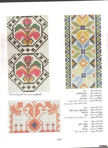 Palestinian Cross Stitch Patterns -