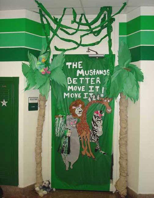 classroom door decorations for homecoming google search school