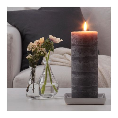 VAKANT Scented block candle  - IKEA