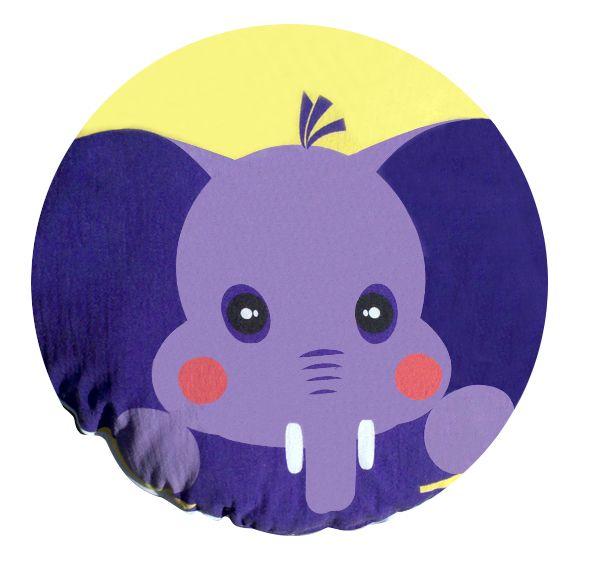 #cojin #elefante #niños #decoracion #cama #almohada #casa  #kids http://www.regalosdirecto.com.mx/para-el-bebe/igriega-kids/cojin-elefante.html