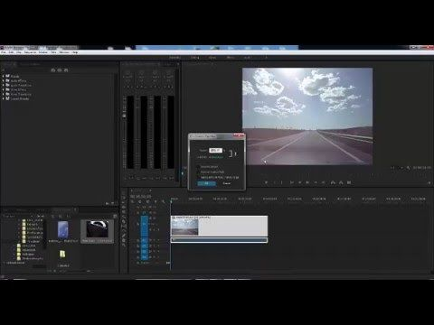 Adobe Premiere Pro CC How To Slow Motion and Fast Forward - YouTube