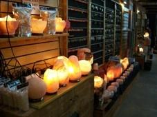 Valley Gems Salt Lamp Display