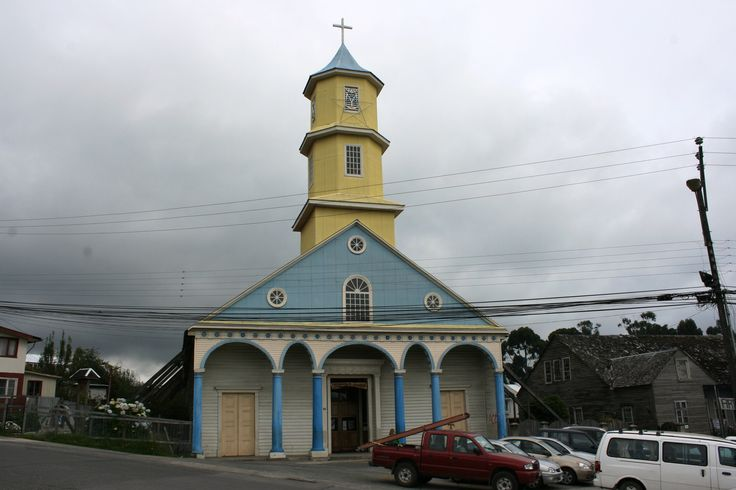 Catedral de Chonchi.Isla de Chiloé.