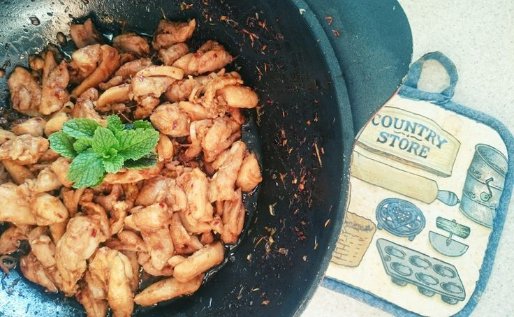 Do not think I should say much about this Lemongrass and Chilli chicken. This tasty and easy dish explains itself well !