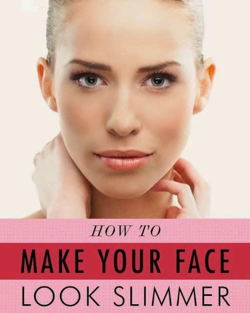 How to make your face look slimmer with makeup - Crack open any magazine and you're bound to flip through a bevy of slim faces dotted with perfectly chiseled cheekbones and noses. Unfortunately for us women of the real-world variety, perfecting our bone structure and hitting the gym religiously aren't always a reality. If your face is feeling a little rounder than you'd like, here are my 5 professional makeup artist tips to make your face look slimmer instantly—no treadmill time required.