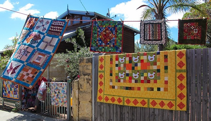 Airing of the Quilts - Love Freo