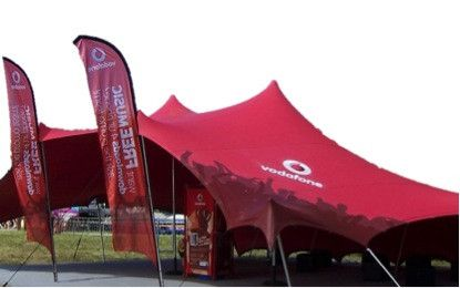 Branding from Stretch tents