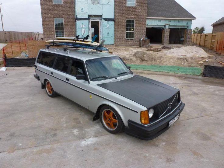 84 Volvo 240 Turbo wagon - Houston, TX - StanceWorks | Car | Volvo, Volvo wagon, Volvo 240