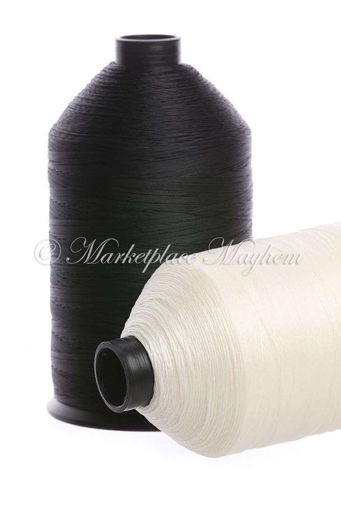 STRONG BONDED NYLON - SEWING THREAD - 20s - TEX 138 - 3000M METRE BY MM