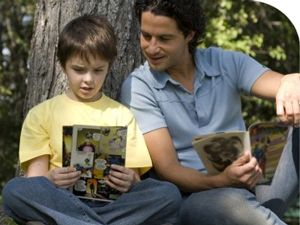 Image result for middle school kid reading