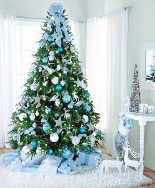 Blue and white...particular combination