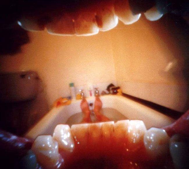 """Fotógrafo """"constrói"""" câmera pinhole dentro da sua própria boca"""
