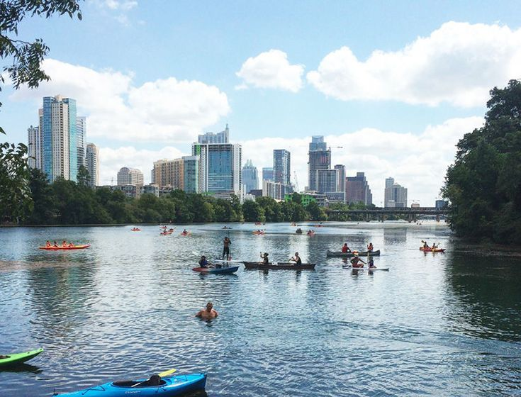 Lady Bird Lake is a refreshing nature break smack in the middle of all the city action