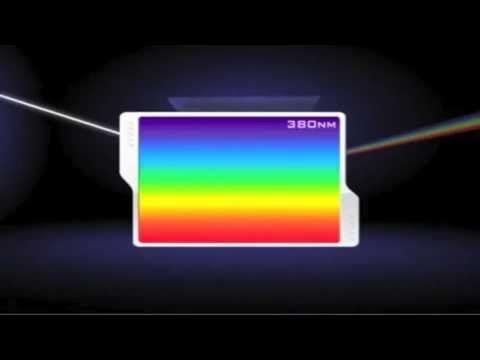 El espectro electromagnético 05 Luz visible NASA (español)