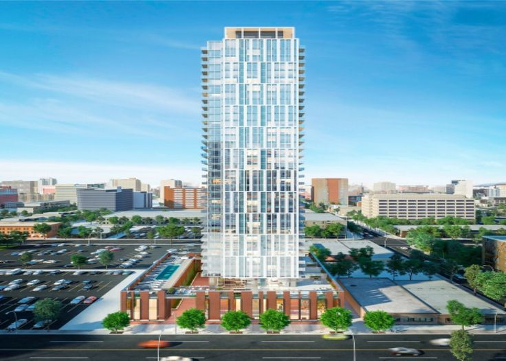 Jasper House A proposed 40 stories high