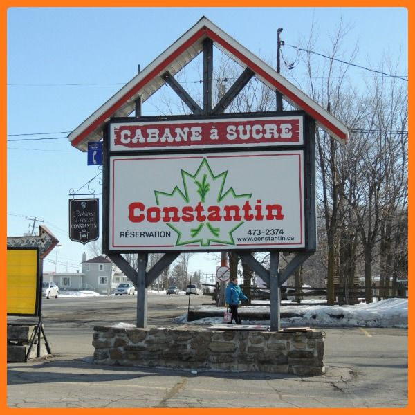 Cabane a Sucre Constantin, S-Eustache, Quebec, Canada (Canadian seasonal and food traditions)