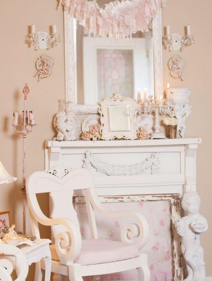 Die besten 25+ Kaminsims spiegel Ideen auf Pinterest Alte - wohnzimmer weis rosa