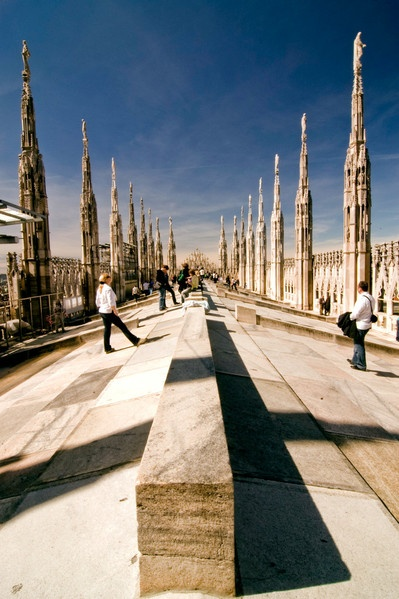 Guglie del #Duomo #Milano