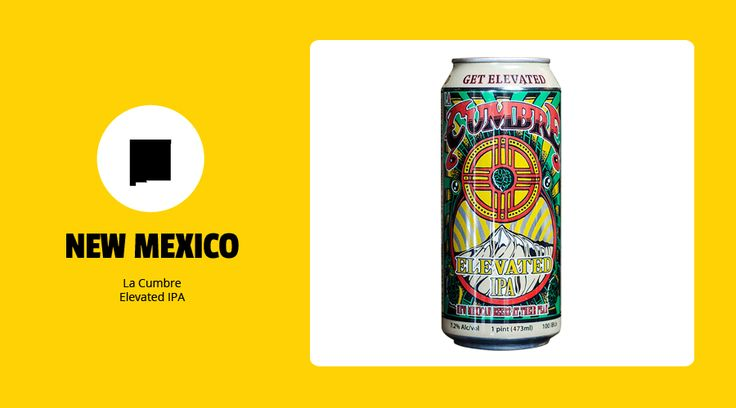 New Mexico - La Cumbre Elevated IPA - The Best Craft Beers From Each of the 50 States :The United States of Beer: | First We Feast