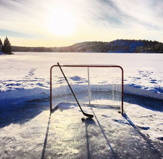 Best Ice Hockey Outdoors Images On   Ice Hockey