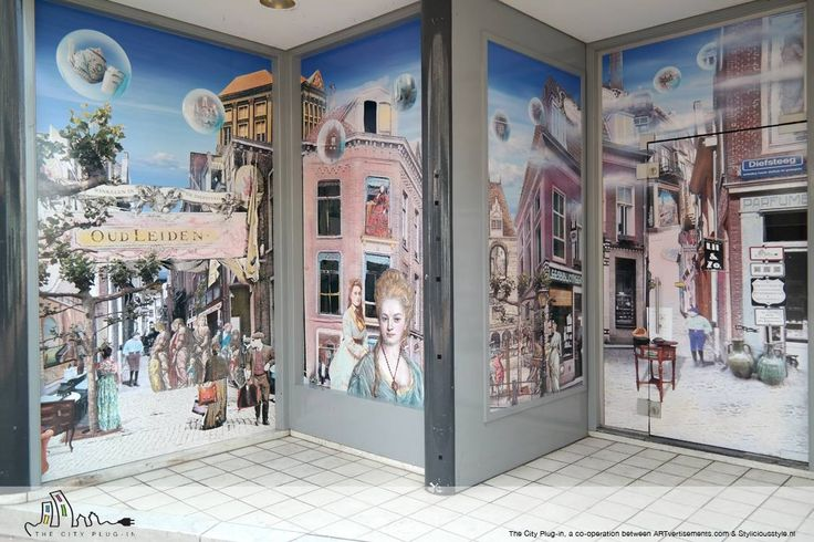 The City Plug-in, a co-operation between ARTvertisements.com & Styliciousstyle.nl
