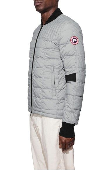 canada goose black down dunhan jacket