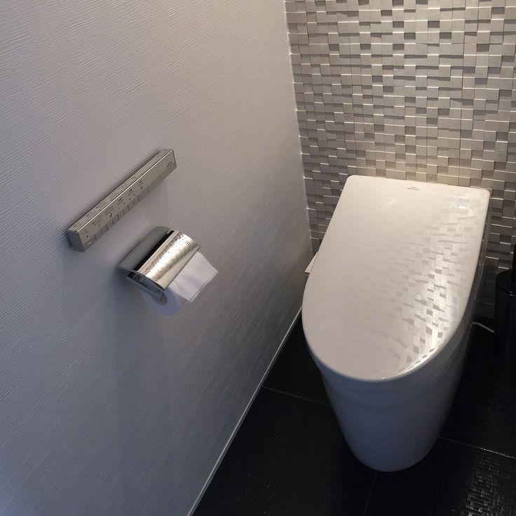タイル壁/タイルの床/間接照明/TOTOネオレスト/バス/トイレのインテリア実例 - 2015-06-07 23:44:09 | RoomClip(ルームクリップ)