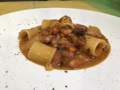 Pasta e Fagioli, Ricetta Chef Stefano Barbato - YouTube
