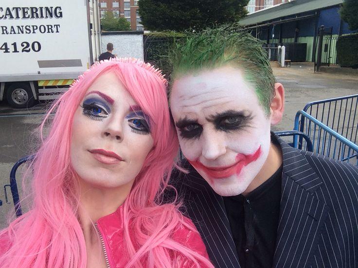 When your date is a joker fun @ comicon Ireland